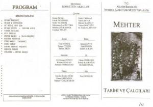 1999-Tarihi Türk Müziği Topluluğu ile