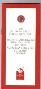 2005-T.C Büyük Millet Meclisi Konseri