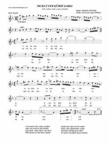 Muhayyer Kürdi Şarkı-Yine bahar oldu